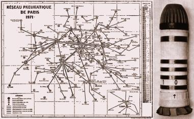 Rede Pneumática de Paris - 1971